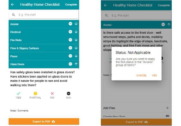 Site Audit - Healthy Home Checklist